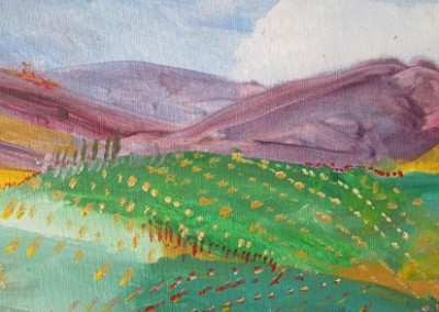 Tuscan Scape