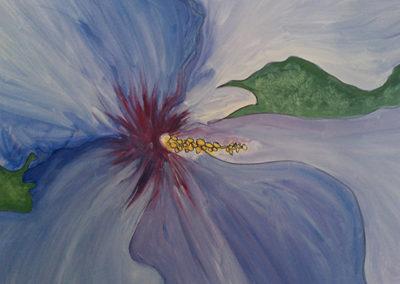 Blue Violet Rose of Sharon